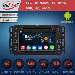 """2015 New Coming 1024*600 Pixel Android 4.4.4 Car Radio For GMC 7"""" Double Din"""
