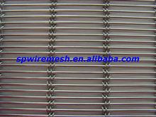 high quality curtain wall wire mesh/decorative metal mesh fabric/facade decorative mesh