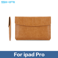 Pouch Leather Case For iPad Pro Sleeve Bag Cover for iPad Pro Tablet PC Bags Fro iPad Pro Business Bag