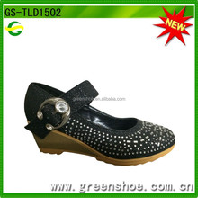 latest high heel wedge shoes for girls.