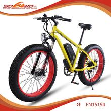 Long range 36V Dual disc brakes hub motor chopper electric bike for sale