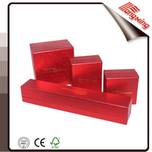 2015 cheap red and black flip-off cardboard box for jewelry