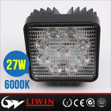 Liwin brand super bright 4.3nch 27w led work light for trucks atv rv accessories chinese mini truck motorcycle bulb