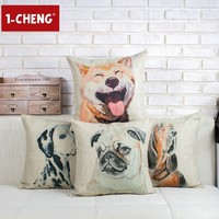 Wholesale Pet Dog Pillow Cover Sofa Decorative Cushion For Leaning On