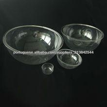 Small plastic acrylic half hollow dome