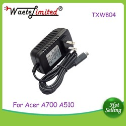 12V 1A 1.5A power adapter for Acer A500 and ASUS TF101 201