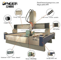 Chinese best manufacturer 3d stone carving cnc routers SH-2030 for wood,stone,marble,granite...