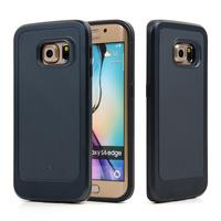 CASEOLOGY Brand Case Slim Sleek Neo Hybrid TPU+ Plastic Back Cover Dual Layer Design Phone Case For Samsung Galaxy S6 Edge