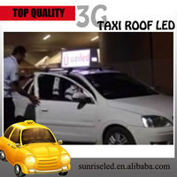 Sunrise advertising led taxi signs display,led car movign message screen sign board,led taxi display sign for car rear window