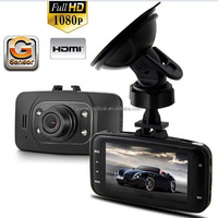 Carsun 1080P HD Car DVR GS8000 + GPS+2.7' LCD +170 degree+Cycling Digital Camera + Night Vision Driving Recorder +G-Sensor