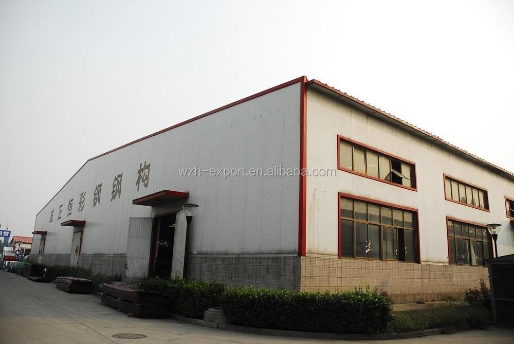 Prefabricated Low Cost Metal Structures Roofing Houses