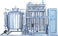 Internal spiral multi-effect distilled water machine