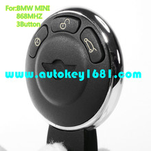 MS smart card 868mhz replacement car key with small key pcf7952 chip for bmw mini cooper