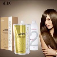 Permanent hair straightening cream