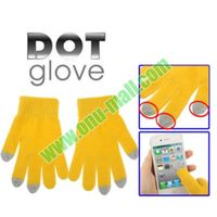 Dot Gloves of Touch Screen for iPhone 5, for iPhone 4 & 4S / iPad / iPod Touch/BlackBerr/ HTC and Other Smart Phone