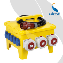 Saip Saipwell German USA ODM OEM 2015 Electrical Power Box Many Size IP65 Waterproof China Portable Power Distribution Box
