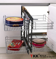 Pull Out Wire Basket,Kitchen Magic Corner Storage