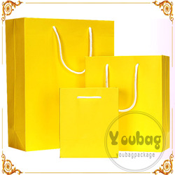 Cheap advertising tote black laminitioned paper bag for wholesales