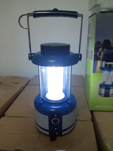 36 LED Portable Hand Crank Torch Light 3W Solar Camping Lantern SN-SLY603