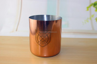 TEALIGHT HOLDER Metal Enclosed Brass candle jar,Copper Tin Soy Wax Candle cup,copper mule mug ,high quality polished copper