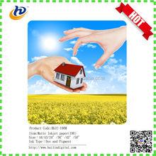 2015 top selling inkjet photo paper a4 size 128gsm inkjet matte paper
