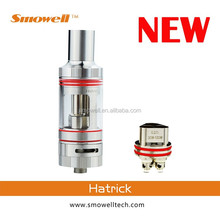 New products 2015 Smowell hatrick triple coil atomizer top filling vs g5 vaporizer