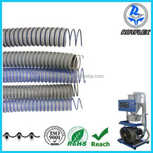 PVC spiral steel wire reinforced hose/ transparent pvc pipe