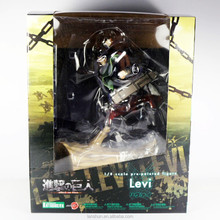 "Attack on Titan Shingeki no Kyojin Levi Rivuai Rivaille 28cm/11"" Figure New in Box"