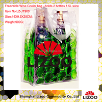 Wine chiller bag for 2 bottles 1.5L wine( factory With CE,MSDS,FDA)