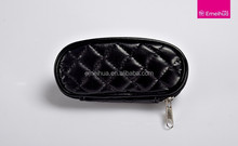 Adorable makeup brush bag personalized black makeup brush case travel size
