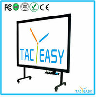 High resolution 10 touch smart board interactive touch whiteboard for classroom