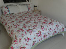 poly cotton quilting and printing duvet cover