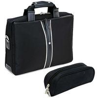 "2014 Fashion Black Nylon 15.6"" For Male Successful Fine Workmanship Business Laptop Bag"