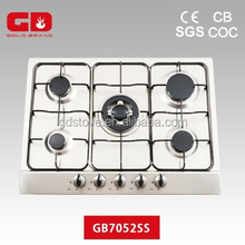 Newest model style copper burner natural gas cooking range in pakistan