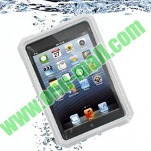 Water-proof:IPX67,High Quality waterproof diving case for ipad mini with 52cm Lanyard