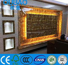 2015 new product interior decoration printed corrugated plastic board