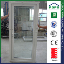 Promotional prices UPVC one piece glass shop door