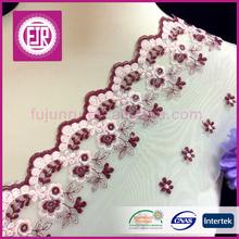 2015 Latest design many colours bulk net trimming lace have stock hot sale