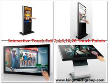 """Nanotechnology 50"""" Interactive Projection foil For Windows glass shop Touch Table"""