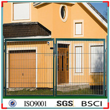 Modern metal gates and steel fences gate design