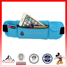 Fashion gym bags hot selling running pack with phone cell phone belt bag(ES-H425)