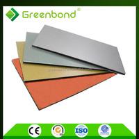 Greenbond high quality modern decorative exterior wall siding panels for acp furniture