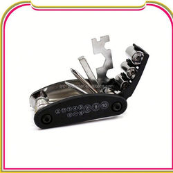 H0T13 15 in 1 Moutain Bicycle Tools Sets, multifunction bicycle repair tool kit