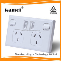 Good Quality Household Wall Switch Socket lan wall socket power socket with usb control