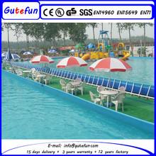 ground swimming pool metal frame pools