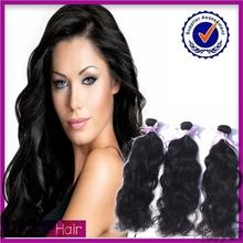 Mejor venta al por mayor virginal sin procesar del pelo humano suave y lisa brasileña del pelo de visón