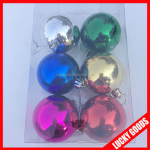 Whosale colourful hot popular christmas ball sets for holiday