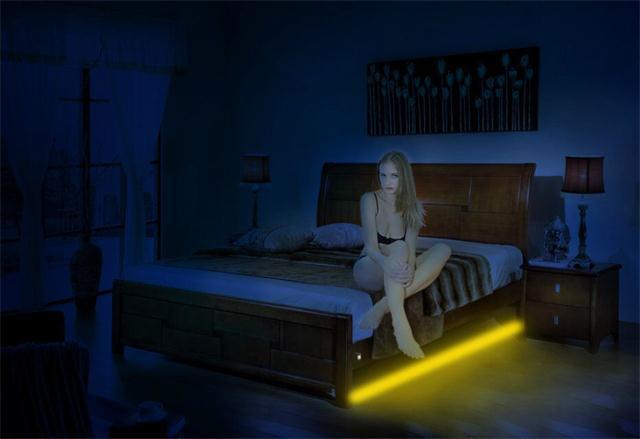 Led Under Bed Light Hotel Jpg