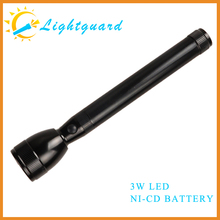 GWS-ME factory supply solar rechargeable waterproof high power super bright aluminum alloy streamlight 1000 lumen led flashlight