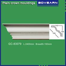 Styrofoam moulding replacement / pu plain cornice molding